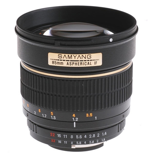 SAMYANG 85 mm f/1,4 AS IF MC pro Olympus/Panasonic FT