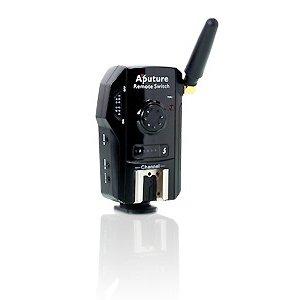 APUTURE spoušť vysílač/přijímač TrigMaster Plus TX1N pro Nikon D800/D4 - 433MHz