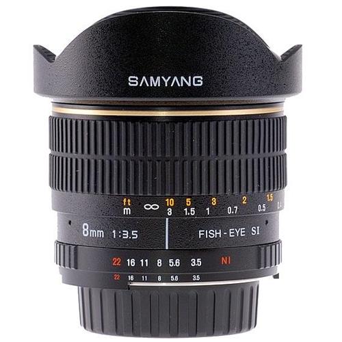 SAMYANG 8 mm f/3,5 MC Fish-eye CS pro Samsung NX