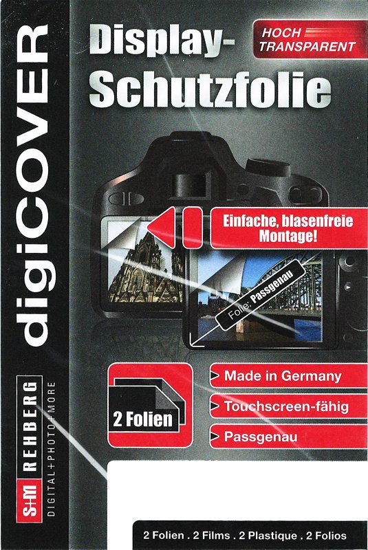 S+M folie na LCD pro Sony DSC-RX100/II/III/IV, A7 II/A7r II/A7S II
