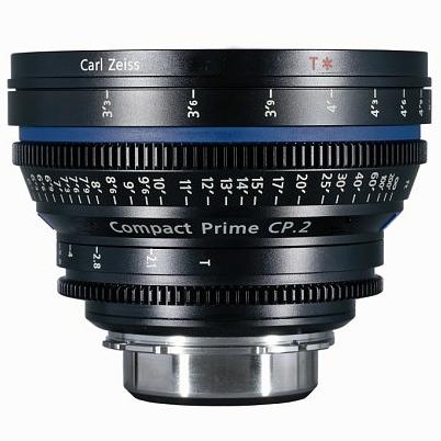 ZEISS CP.2 100 mm T2,1 Close Focus Planar T* F-mount