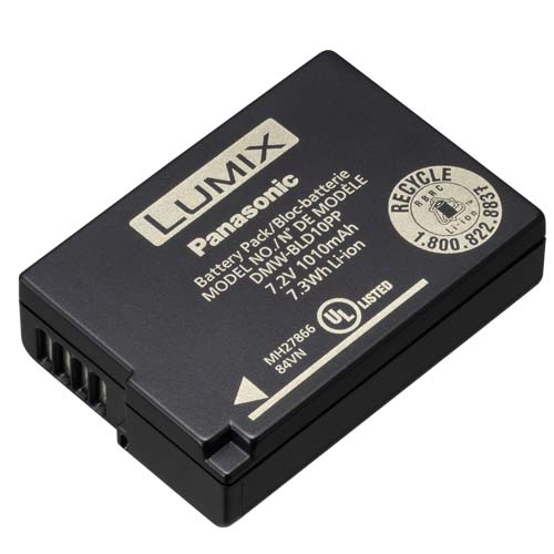 PANASONIC DMW-BLD10 akumulátor pro GF2
