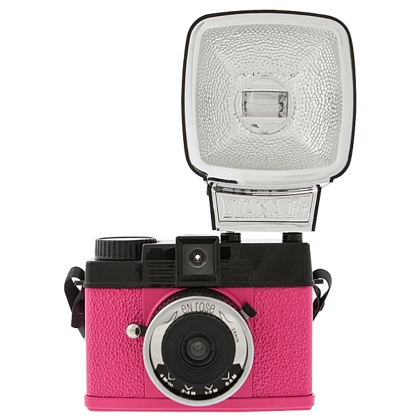 LOMOGRAPHY Diana MINI Flash En Rose