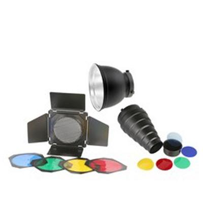 TERRONIC Basic Kit - reflektor 16,5cm+ komínek+ voštinový filtr + barevné filtry