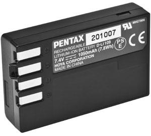 PENTAX D-Li109 akumulátor pro K-r/30/50/70/500/S2 a KP