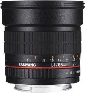 SAMYANG 85 mm f/1,4 AS IF MC pro Samsung