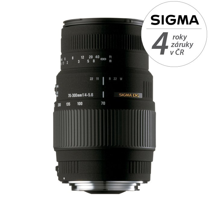 SIGMA 70-300 mm f/4-5,6 DG pro Sigmu