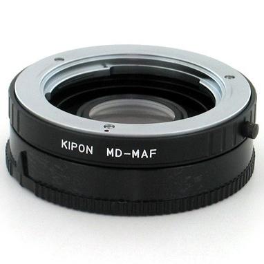 KIPON adaptér objektivu Minolta MD na tělo Sony Alpha