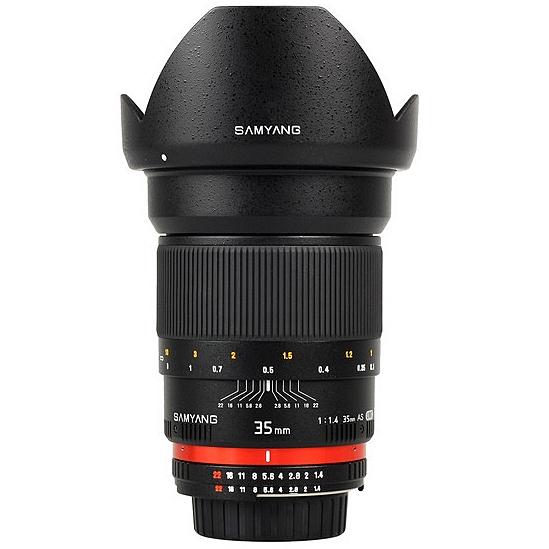 SAMYANG 35 mm f/1,4 AS UMC pro Nikon F