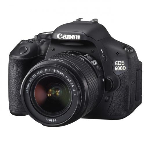 CANON EOS 600D + EF-S 18-55 IS II + 55-250 IS II