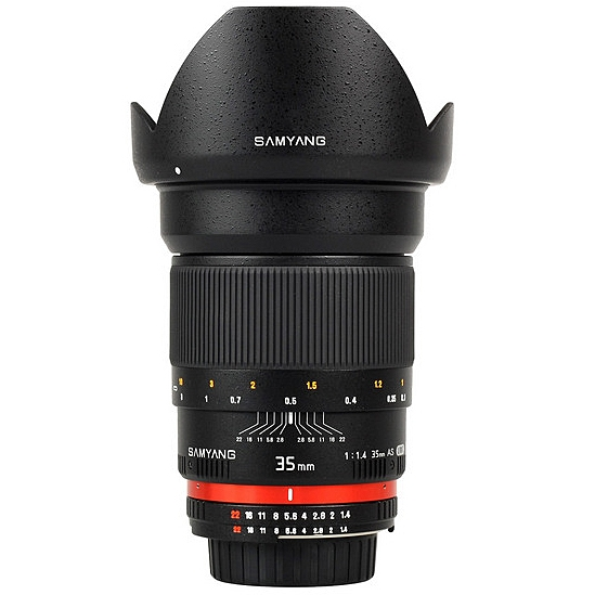 SAMYANG 35 mm f/1,4 AS UMC pro Sony A