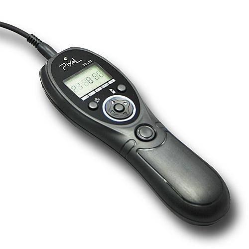 PIXEL spoušť kabelová s časosběrem TC-252/DC2 pro Nikon D3300/5300/7200/610/750