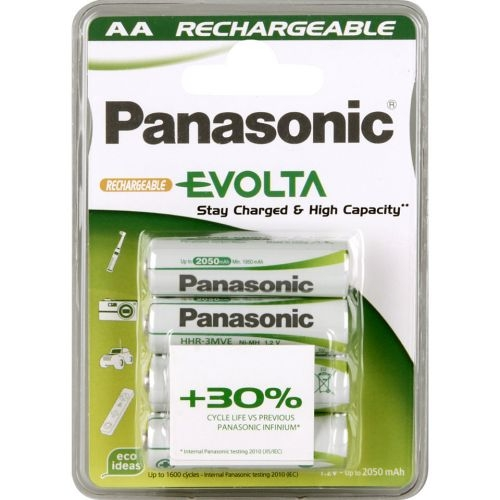 PANASONIC Evolta AA NiMH 2050 / 4ks