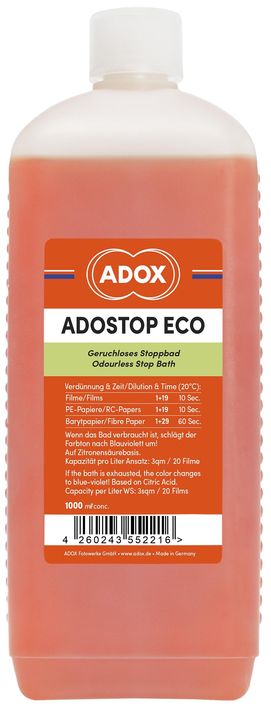 ADOX ADOSTOP ECO přerušovač 1 l
