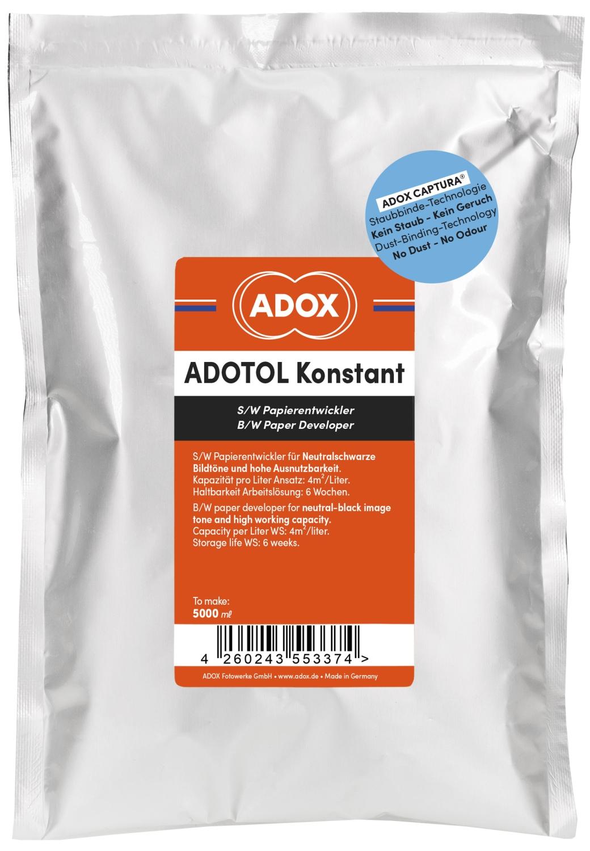 ADOX ADOTOL Konstant pozitivní vývojka 5 l (Orwo N113)