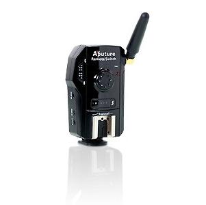 APUTURE spoušť vysílač/přijímač TrigMaster Plus TX1N pro Nikon D800/D4/5