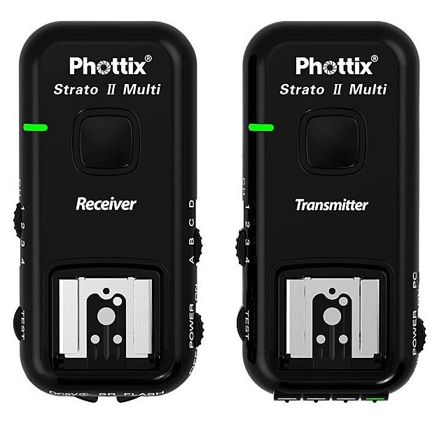 PHOTTIX STRATO II rádiový odpalovač a přijímač blesku pro Nikon (sada 1+1)
