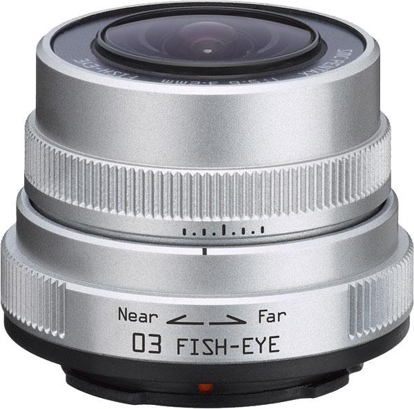 PENTAX 3,2 mm f/5,6 Fisheye pro Q