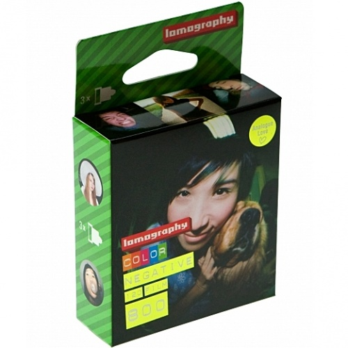 LOMOGRAPHY film COLOR 800 ISO/120 3pack