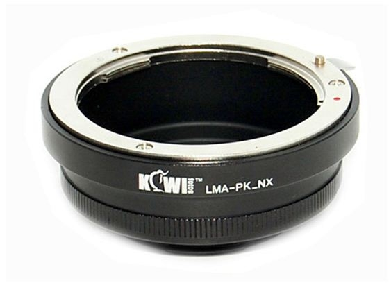KIWI adaptér objektivu Pentax K na tělo Samsung NX