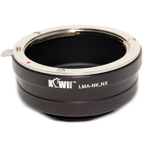 KIWI adaptér objektivu Nikon D na tělo Samsung NX