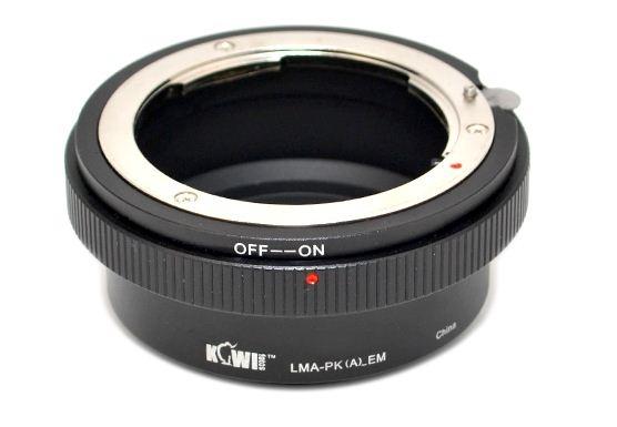FOTODIOX adaptér objektivu Pentax K(A) na tělo Sony E