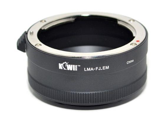 KIWI adaptér objektivu Fujica X-Fujinon na tělo Sony E