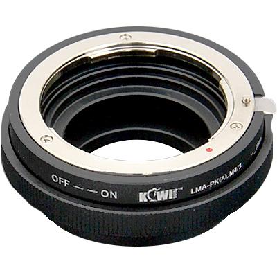 KIWI adaptér objektivu Pentax K(A) na tělo Olympus/Panasonic MFT