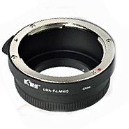 KIWI adaptér objektivu Fujica X-Fujinon na tělo MFT