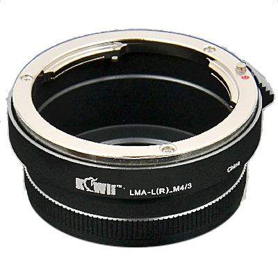 KIWI adaptér objektivu Leica R na tělo Olympus/Panasonic MFT