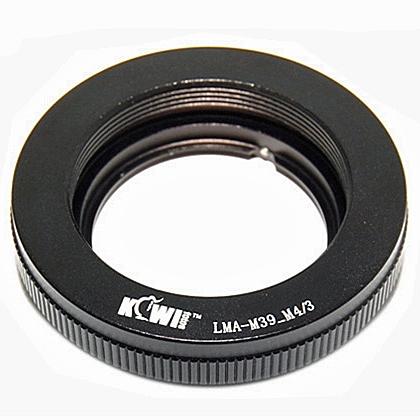 KIWI adaptér objektivu M39 na tělo Olympus/Panasonic MFT