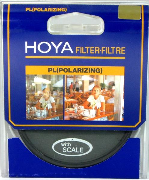 HOYA filtr polarizační lineární 49 mm
