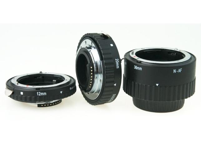 MEIKE mezikroužky set 12/20/36 pro Nikon AF