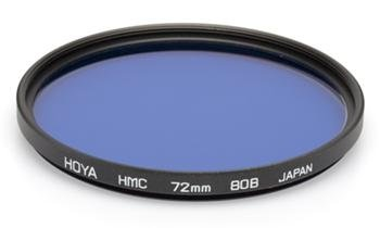 HOYA filtr konverzní KB12/80B HMC 49 mm