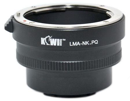 KIWI adaptér objektivu Nikon D na tělo Pentax Q