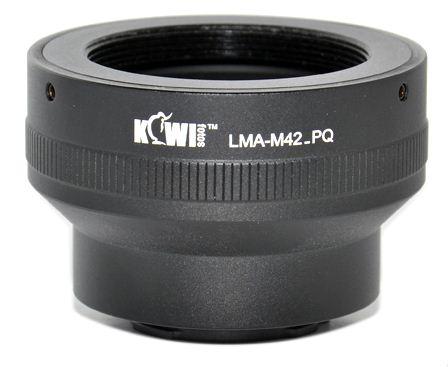 KIWI adaptér objektivu M42 na tělo Pentax Q