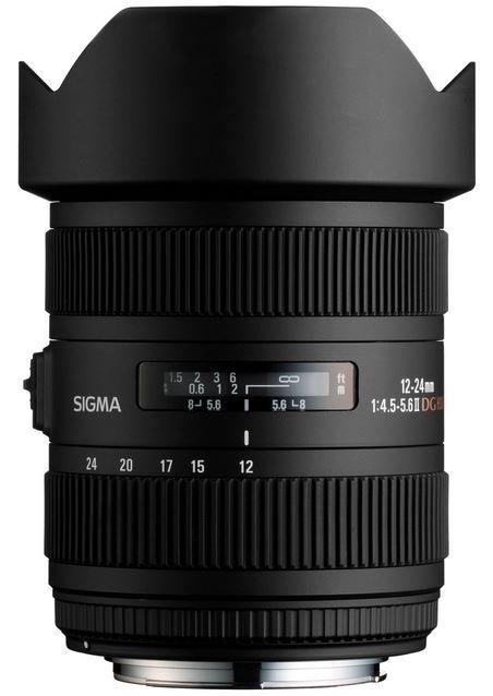 SIGMA 12-24 mm f/4,5-5,6 DG HSM II pro Sony A