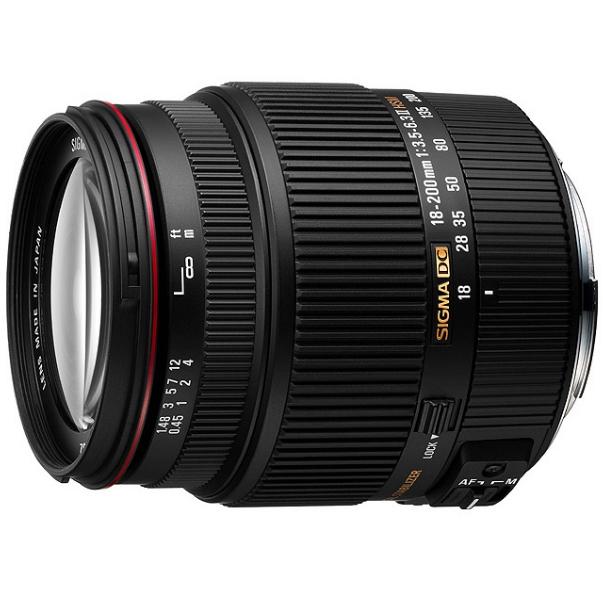 SIGMA 18-200 mm f/3,5-6,3 DC HSM II pro Sony A