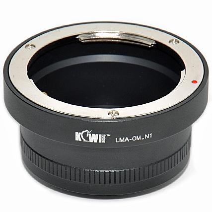KIWI adaptér objektivu Olympus OM na tělo Nikon 1