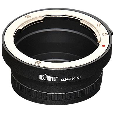 KIWI adaptér objektivu Pentax K na tělo Nikon 1