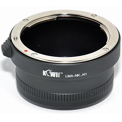 KIWI adaptér objektivu Nikon D na tělo Nikon 1
