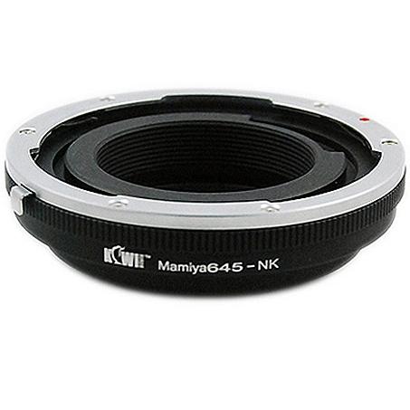 KIWI adaptér objektivu Mamiya 645 na tělo Nikon F