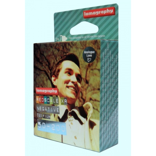 LOMOGRAPHY film COLOR 50-200 ISO/120 Extended Range 3pack