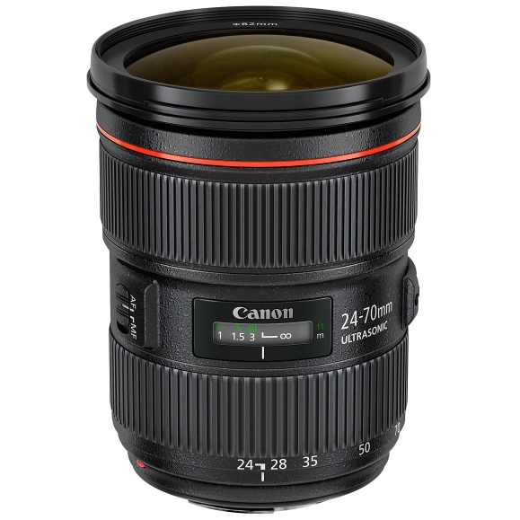 CANON EF 24-70 mm f/2,8 L II USM + 5000Kč získejte zpět