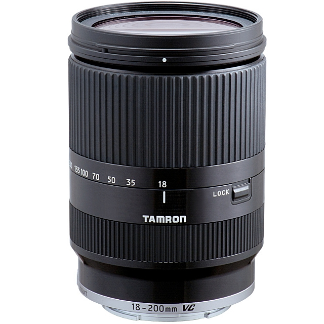 TAMRON 18-200 mm f/3,5-6,3 Di III VC pro Sony E černý