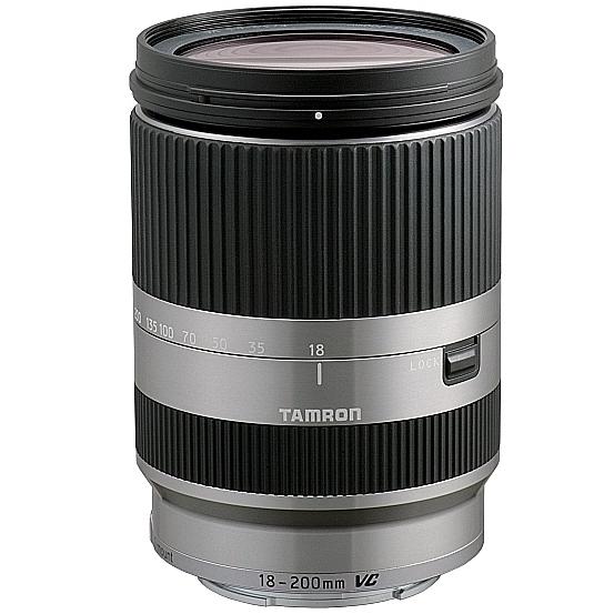 TAMRON 18-200 mm f/3,5-6,3 Di III VC pro Sony E (APS-C) stříbrný