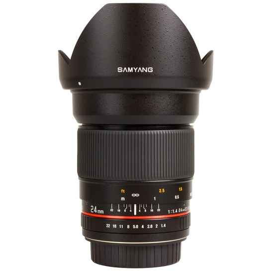 SAMYANG 24 mm f/1,4 ED AS UMC pro Canon EOS