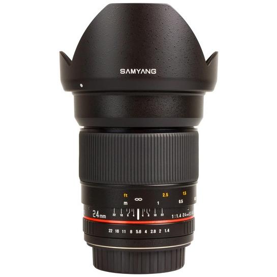SAMYANG 24 mm f/1,4 ED AS UMC pro Pentax