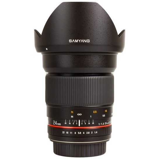 SAMYANG 24 mm f/1,4 ED AS UMC pro Sony A