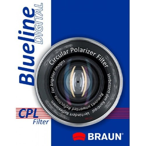 BRAUN filtr polarizační cirkulární 55 mm